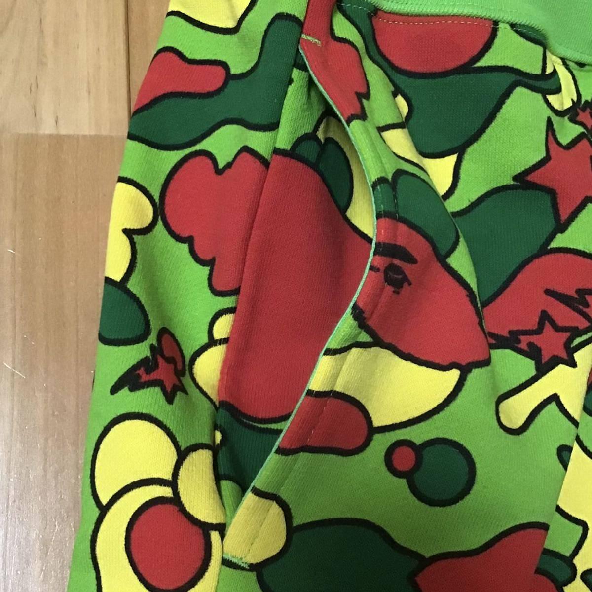 ★新品★ XLサイズ PSYCHE CAMO スウェット ハーフパンツ a bathing ape BAPE sweat shorts エイプ ベイプ アベイシングエイプ ショーツ g8