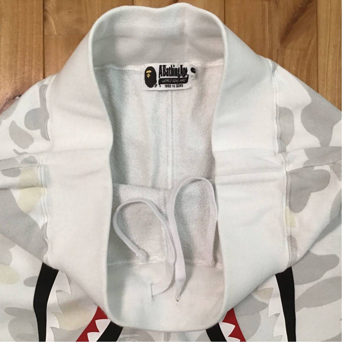 ★蓄光★ city camo シャーク スウェットパンツ Mサイズ a bathing ape shark sweat pants BAPE エイプ ベイプ アベイシングエイプ 62j