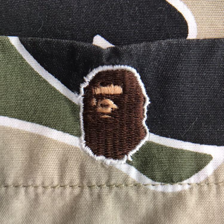 sta camo 半袖シャツ Lサイズ a bathing ape bape エイプ ベイプ アベイシングエイプ psyche サイケ 迷彩 裏原宿 NOWHERE アロハ