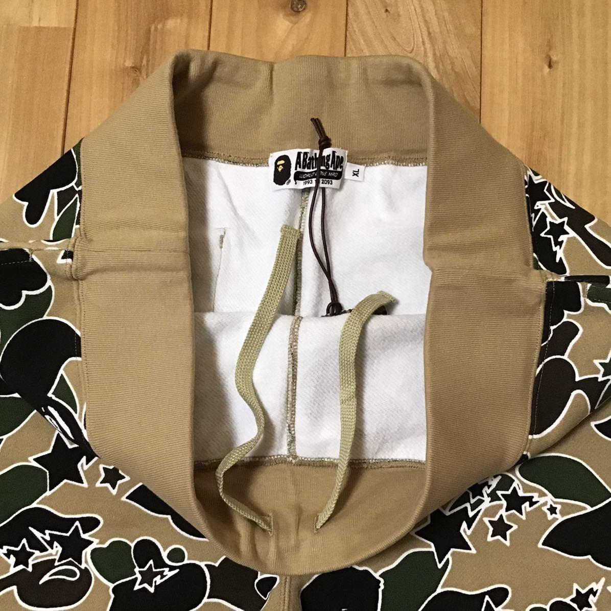 ★新品★ XLサイズ STA CAMO スウェット ハーフパンツ a bathing ape BAPE sweat shorts エイプ ベイプ アベイシングエイプ ショーツ r312