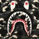 ★蓄光★ city camo シャーク ポロシャツ Mサイズ a bathing ape BAPE shark polo shirt エイプ ベイプ アベイシングエイプ 迷彩 fea5