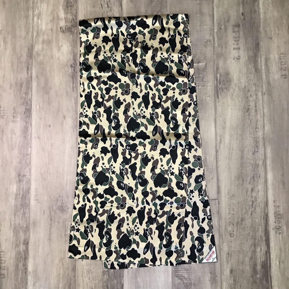★激レア★ 初期 sta camo スカーフ a bathing ape BAPE ストール エイプ ベイプ アベイシングエイプ psyche scarf nigo 1521