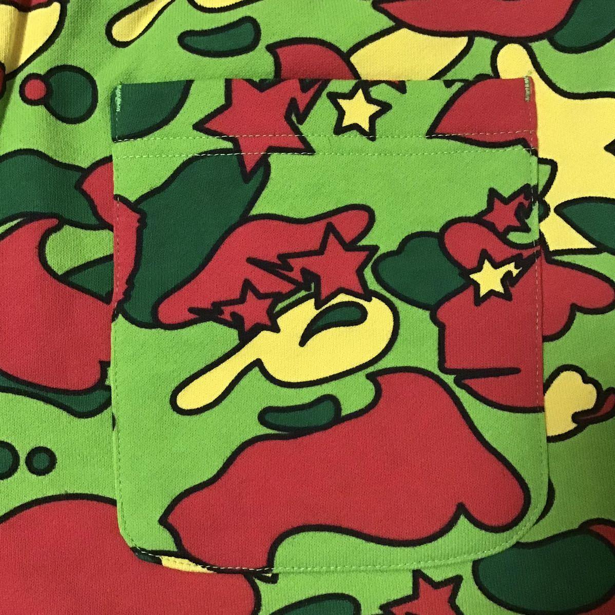 ★新品★ PSYCHE CAMO スウェット ハーフパンツ Lサイズ a bathing ape BAPE sweat shorts エイプ ベイプ アベイシングエイプ ショーツ a42
