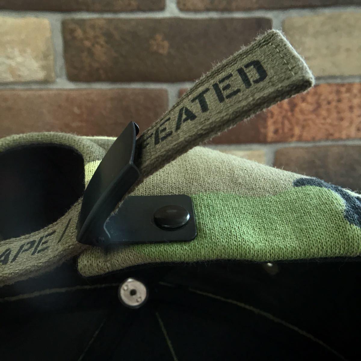 ★美品★ undefeated × BAPE キャップ a bathing ape Gradation camo trucker hat cap エイプ ベイプ アベイシングエイプ 迷彩 帽子 2152