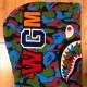★シンガポール限定★ singapore city camo シャーク パーカー S shark full zip hoodie a bathing ape bape エイプ ベイプ 都市限定 kaws