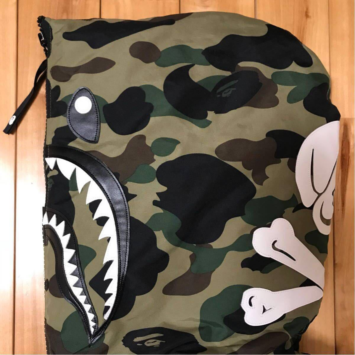 ★2XL★ 原宿限定 NBHD CAMO SHARK N2-B ダウンジャケット bape hoodie シャーク パーカー a bathing ape ネイバーフッド NEIGHBORHOOD XXL