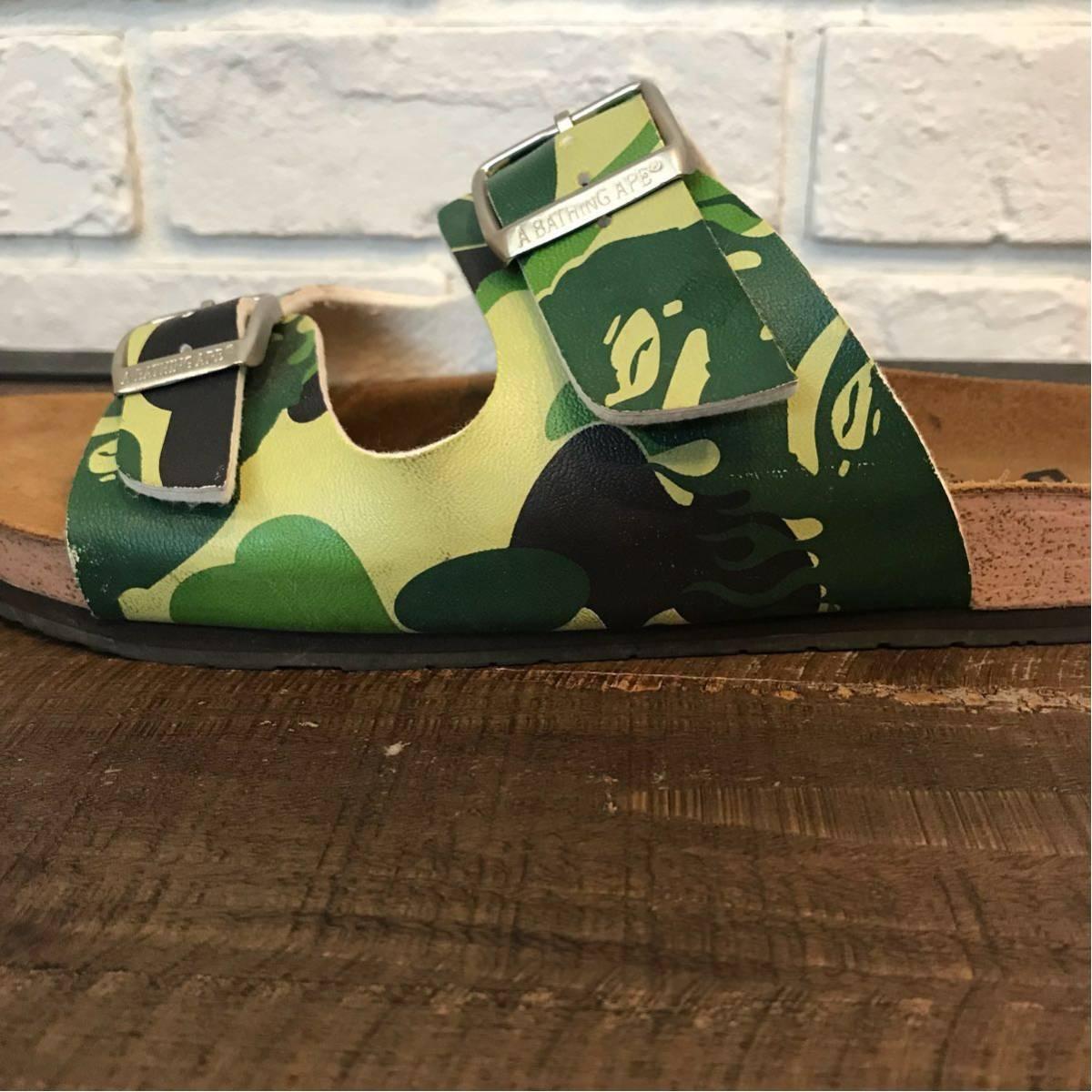 ★ムック限定★ fire camo サンダル a bathing ape bape sandals エイプ ベイプ アベイシングエイプ ファイヤーカモ mook book limited