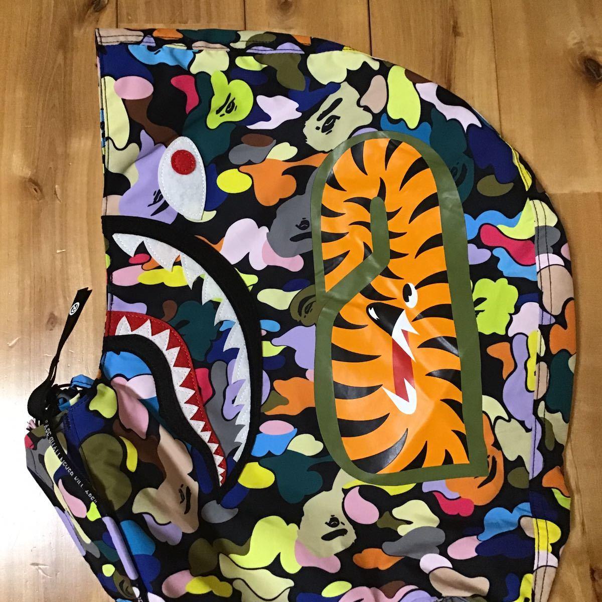 ★新品★ 2XL マルチカモ シャーク スノボ ジャケット a bathing ape shark snow board jacket BAPE hoodie multi camo エイプ ベイプ XXL