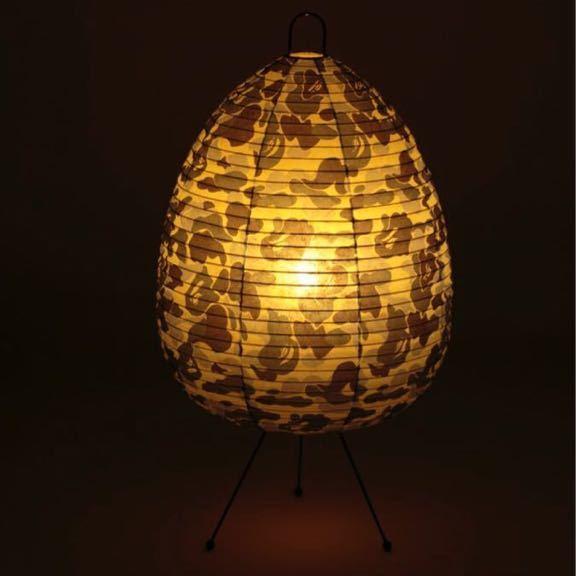★新品★ ABC CAMO LAMP BLUE case study shop ABCカモ ランプ a bathing ape bape エイプ ベイプ furniture MODERNICA 迷彩 ライト