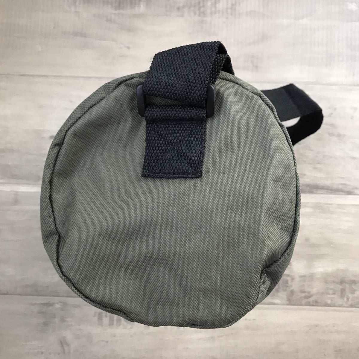 ★新品★ BAPE ドラムバッグ a bathing ape bag ショルダー ボストン バッグ エイプ ベイプ アベイシングエイプ