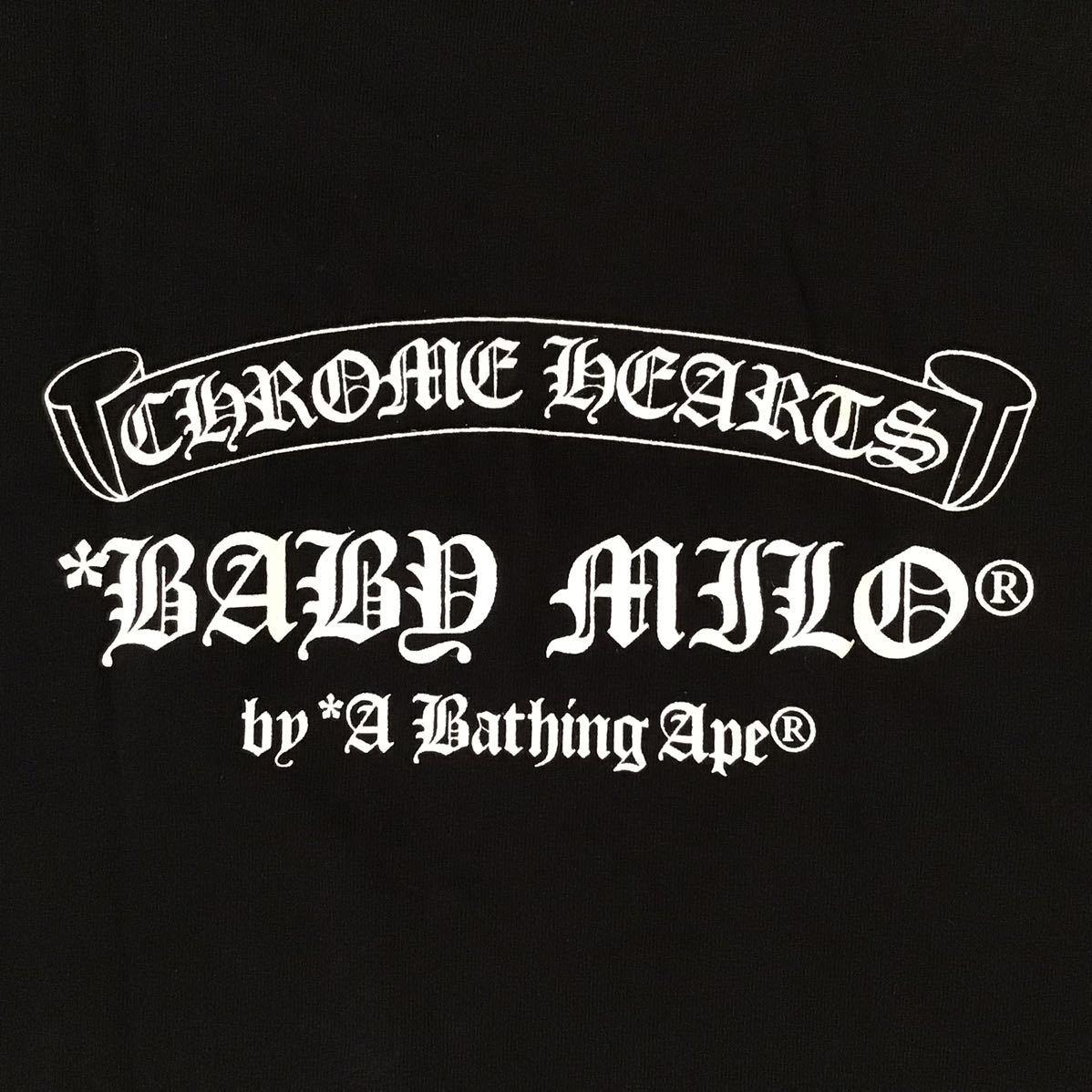 ★美品★ クロムハーツ × bape Tシャツ Sサイズ a bathing ape Chrome Hearts エイプ ベイプ アベイシングエイプ milo マイロ nigo zz53