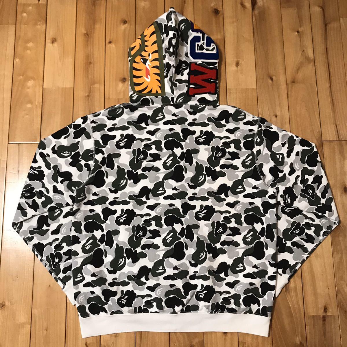 ★京都限定★ kyoto color camo シャーク パーカー Mサイズ shark full zip hoodie a bathing ape BAPE エイプ ベイプ city camo 都市限定