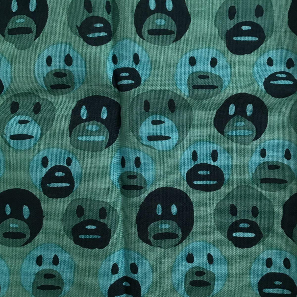 ★新品★ GARY PANTER × BAPE バンダナ a bathing ape bandana ゲイリーパンター エイプ ベイプ アベイシングエイプ ハンカチ nigo