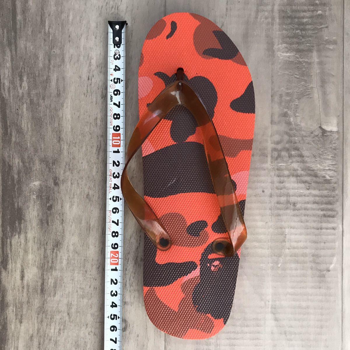 ★新品★ pharrell camo ビーチサンダル a bathing ape bape サンダル エイプ ベイプ アベイシングエイプ 迷彩 nigo red camo sandals