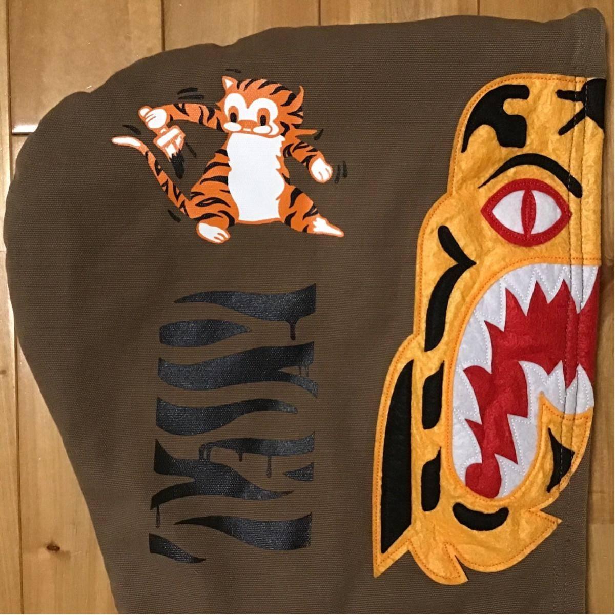 Tiger hoodie work jacket Lサイズ a bathing ape BAPE full zip hoodie エイプ ベイプ アベイシングエイプ タイガー パーカー v62