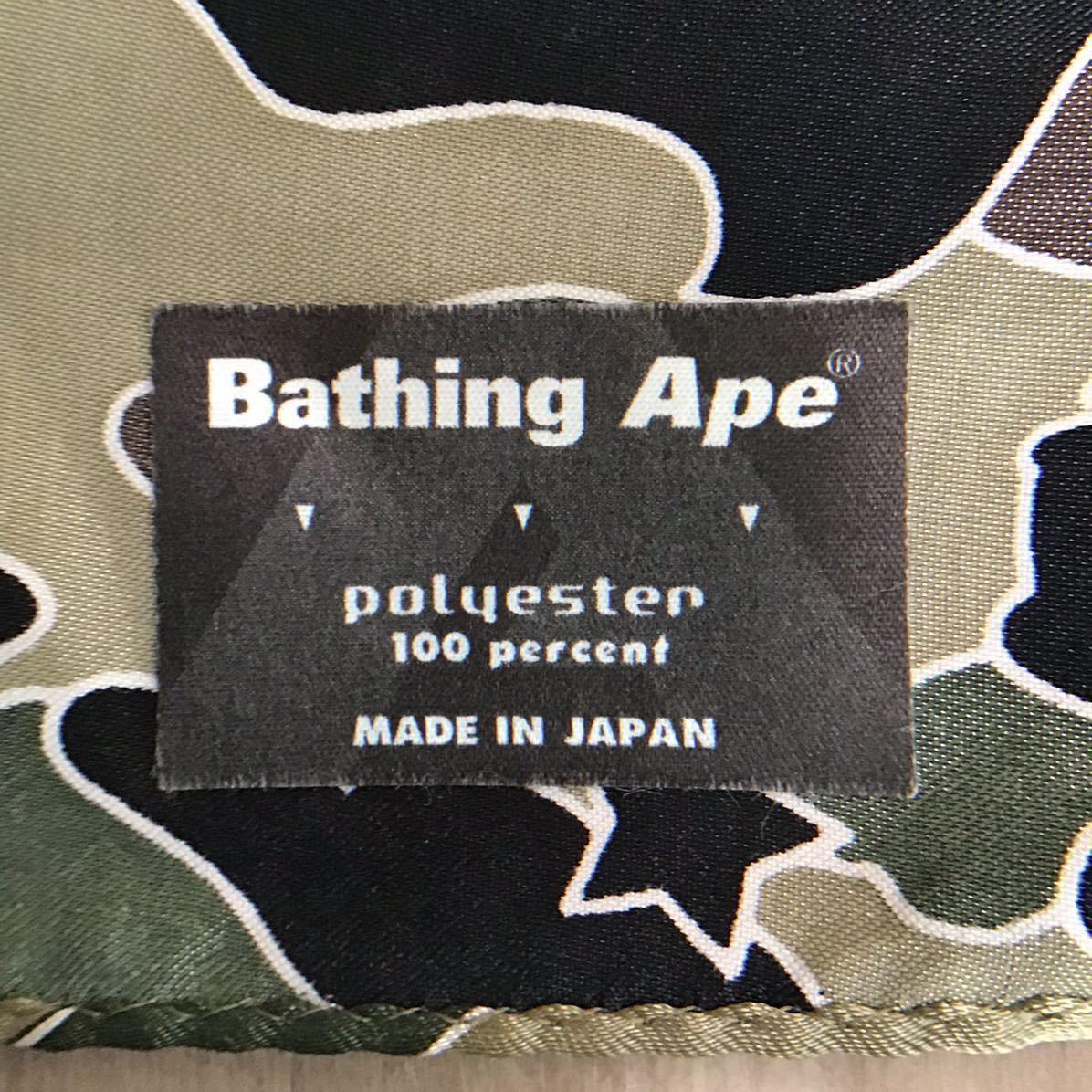 ★激レア★ 初期 sta camo バンダナ a bathing ape BAPE ストール スカーフ エイプ ベイプ アベイシングエイプ psyche scarf nigo bandana