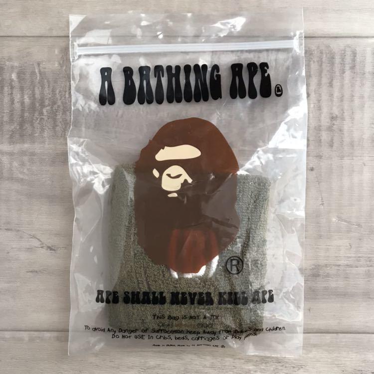 ★新品★ リストバンド バスケットボール a bathing ape bape sta basketball エイプ ベイプ アベイシングエイプ バスケ NBA nigo olive