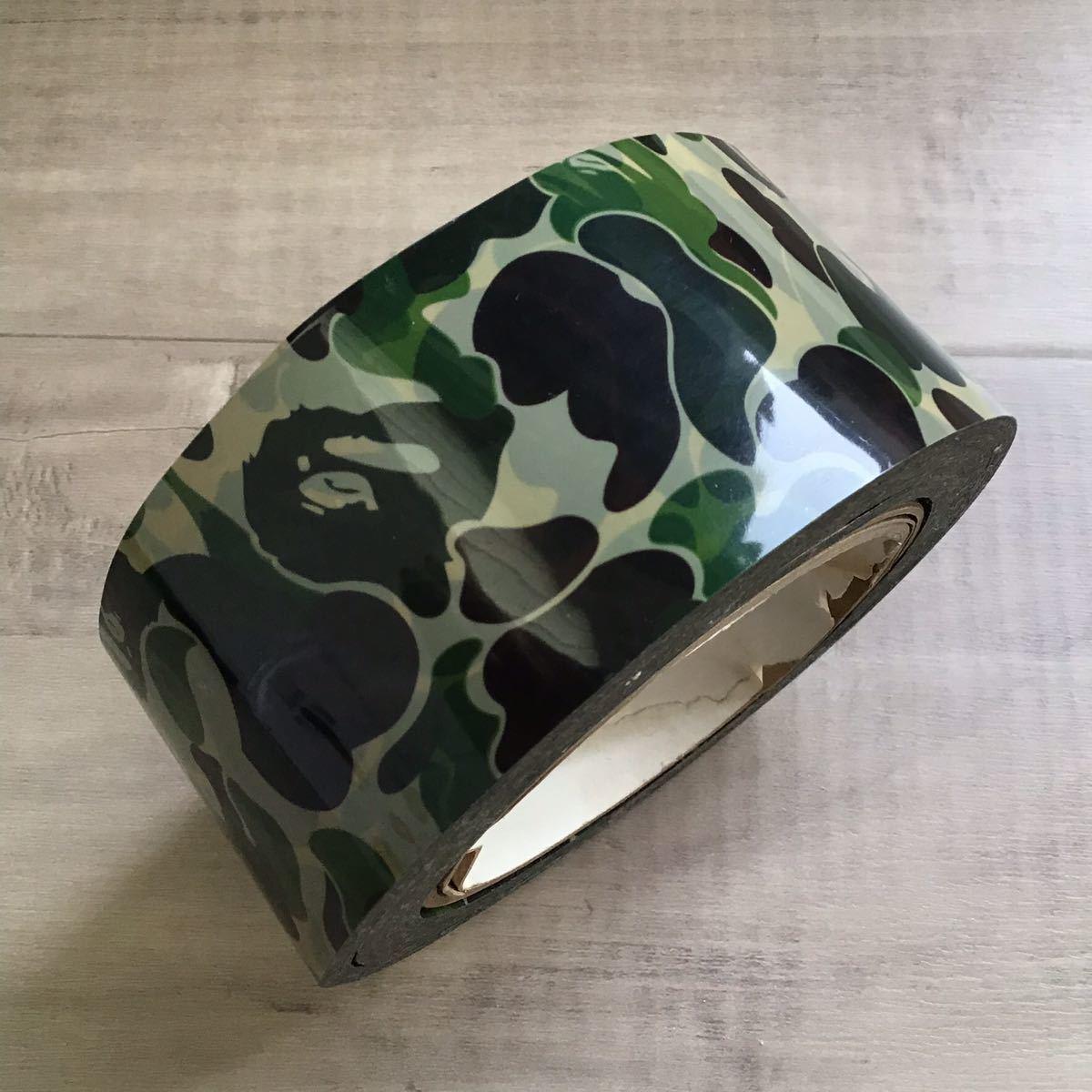 ★激レア★ bape tape テープ ABC camo green a bathing ape コレクション エイプ ベイプ アベイシングエイプ ABCカモ グリーン 迷彩 809
