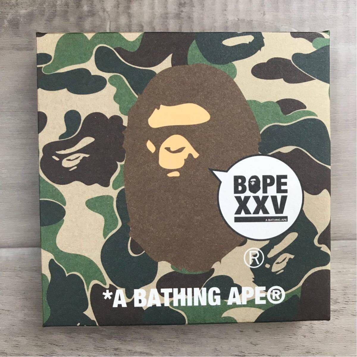 ★非売品★ 25th レセプション ノベルティ XXV a bathing ape bape 25周年 エイプ ベイプ アベイシングエイプ コレクション ノベルティー