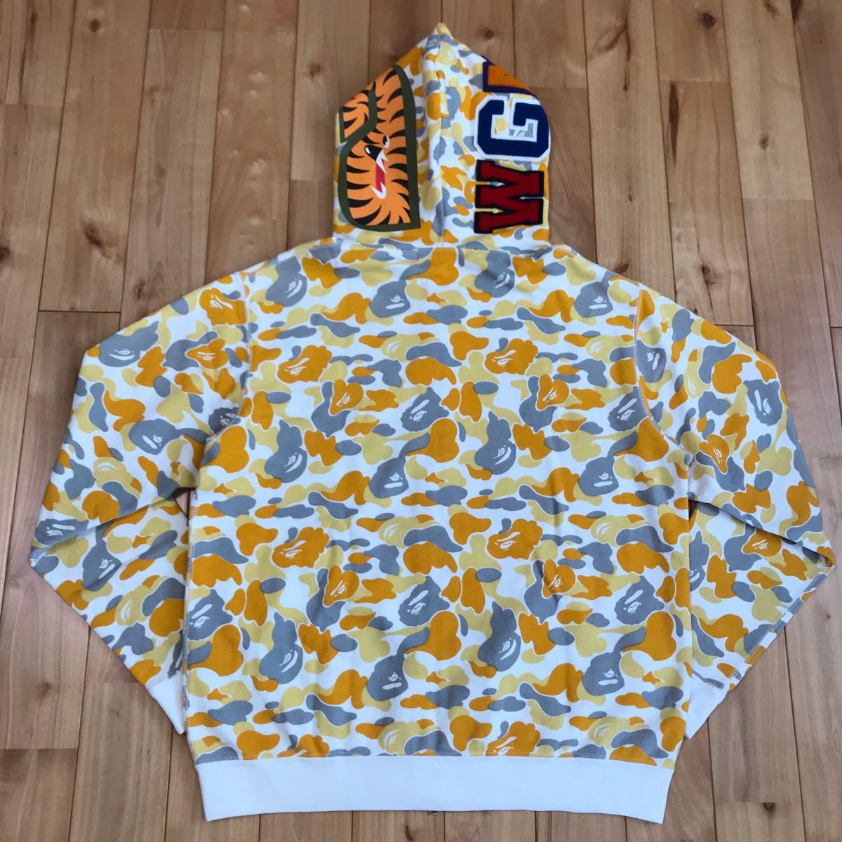 ★松山限定★ matsuyama city camo シャーク パーカー S ape bape shark full zip hoodie ベイプ アベイシングエイプ ジップパーカー nigo