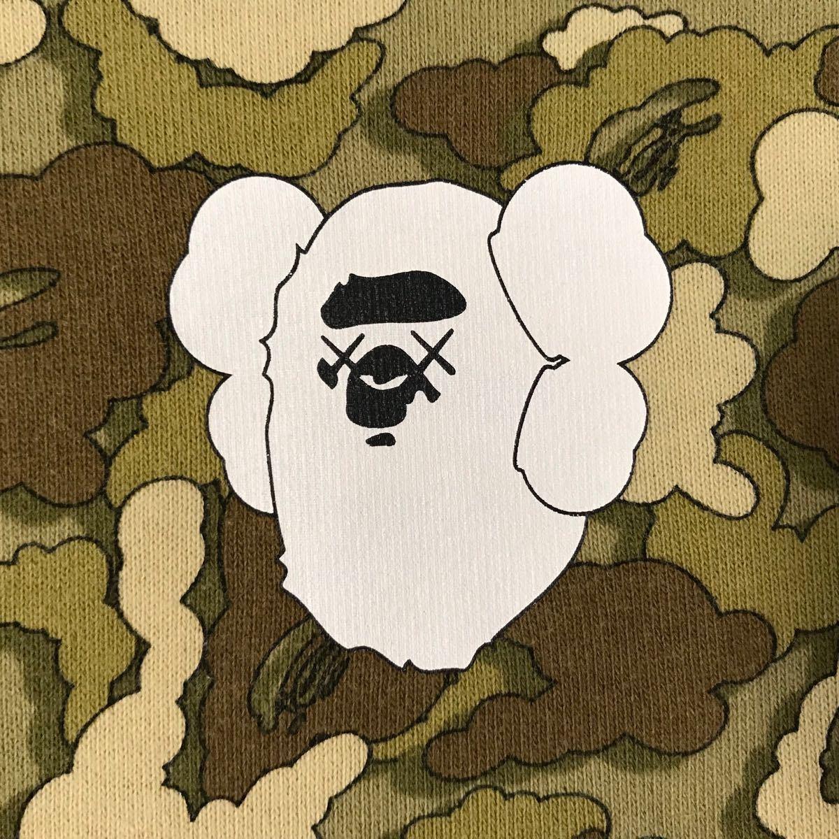 ★リバーシブル★ kaws bape レディース cloud camo 長袖スウェット a bathing ape apee カウズ エイプ ベイプ アベイシングエイプ ladies