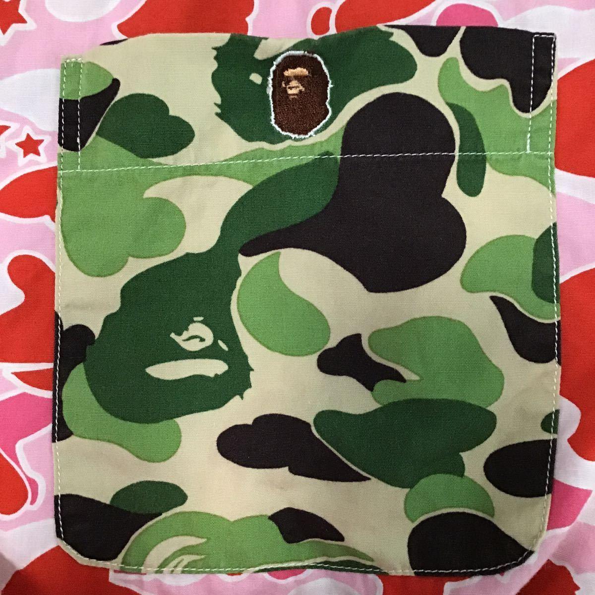 crazy camo 半袖シャツ Sサイズ a bathing ape BAPE ABC camo sta camo psyche エイプ ベイプ アベイシングエイプ 迷彩 ABCカモ 9969