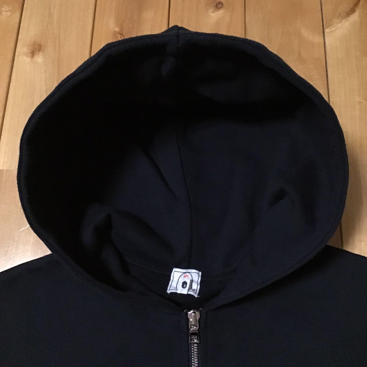 スワロフスキー スウェット フード ベスト Sサイズ a bathing ape bape swarovski hoodie vest エイプ ベイプ パーカー ラインストーン 396