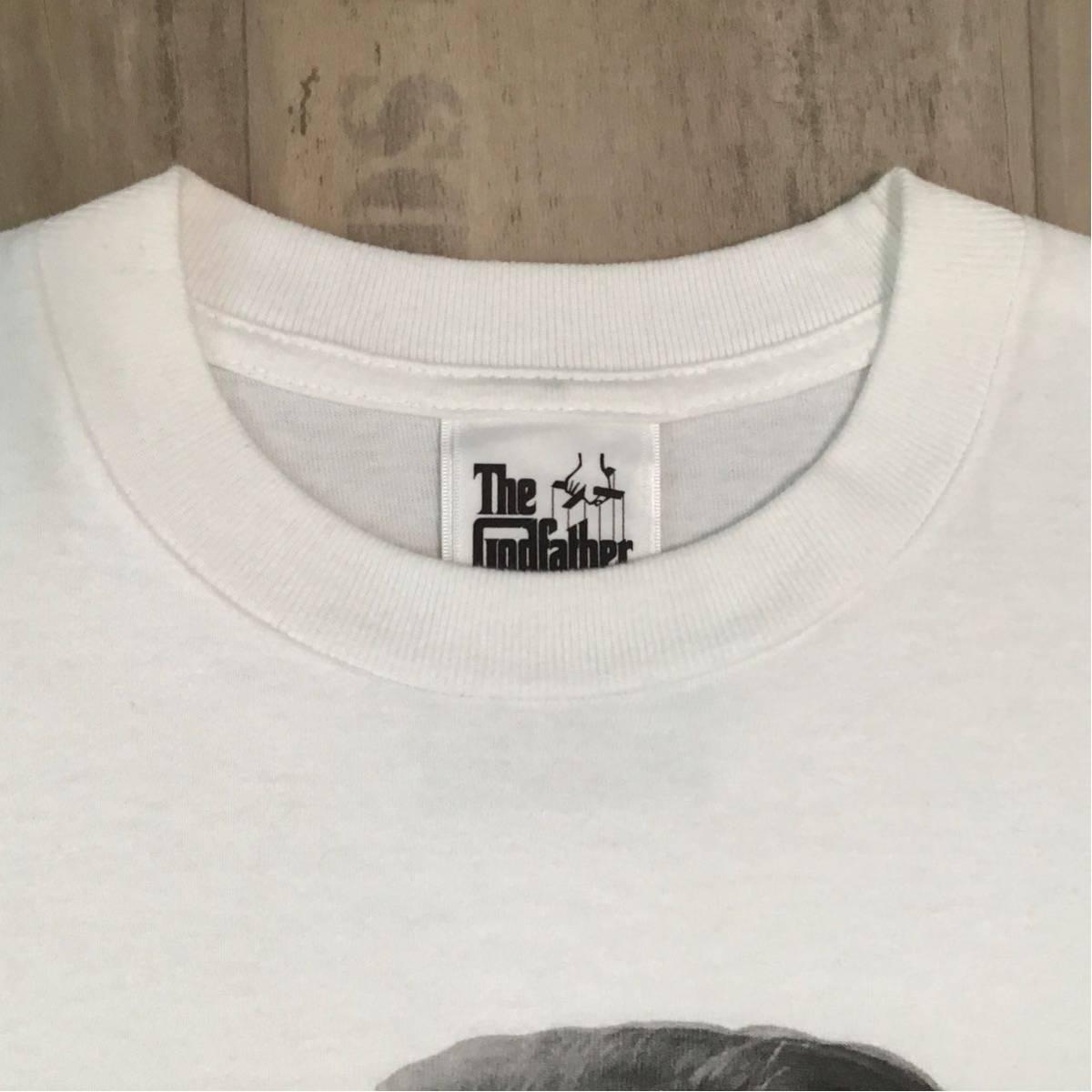 ★激レア★ Godfather × bape Marlon Brando Tシャツ Mサイズ a bathing ape ゴッドファーザー エイプ ベイプ アベイシングエイプ NIGO d1
