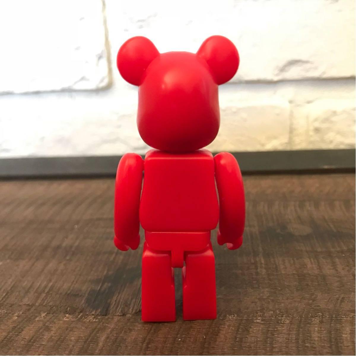 ★非売品★ BE@RBRICK BAPE PLAY 100% RED ベアブリック エイプ レッド レア a bathing ape ベイプ アベイシングエイプ カレッジロゴ nigo