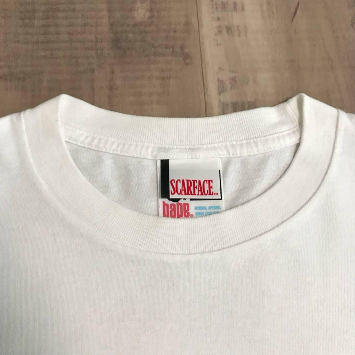 ★XL★ SCARFACE × BAPE Tシャツ a bathing ape スカーフェイス エイプ ベイプ Al Pacino scar face nigo アルパチーノ