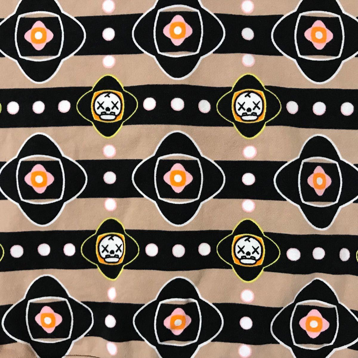 ★激レア★ kaws マイロ モノグラム フルジップ パーカー レディース shortサイズ カウズ a bathing ape bape milo Monogram エイプ ベイプ