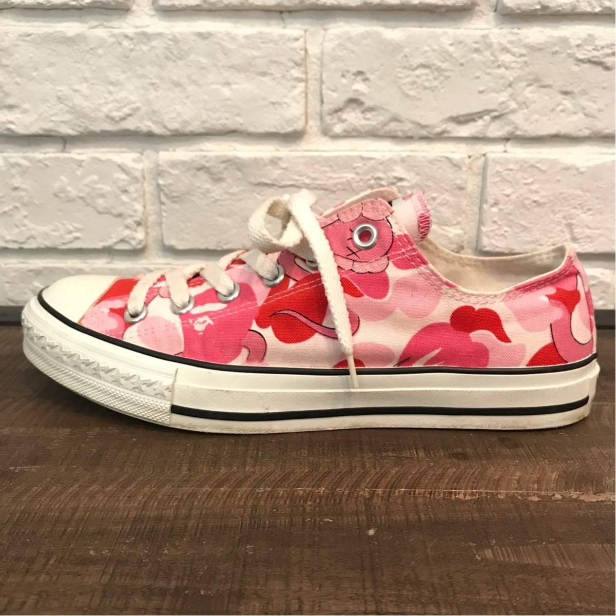 ★激レア★ kaws × bape スニーカー a bathing ape sta allstar sneakers カウズ エイプ ベイプ originalfake ABC camo ABCカモ pink nigo