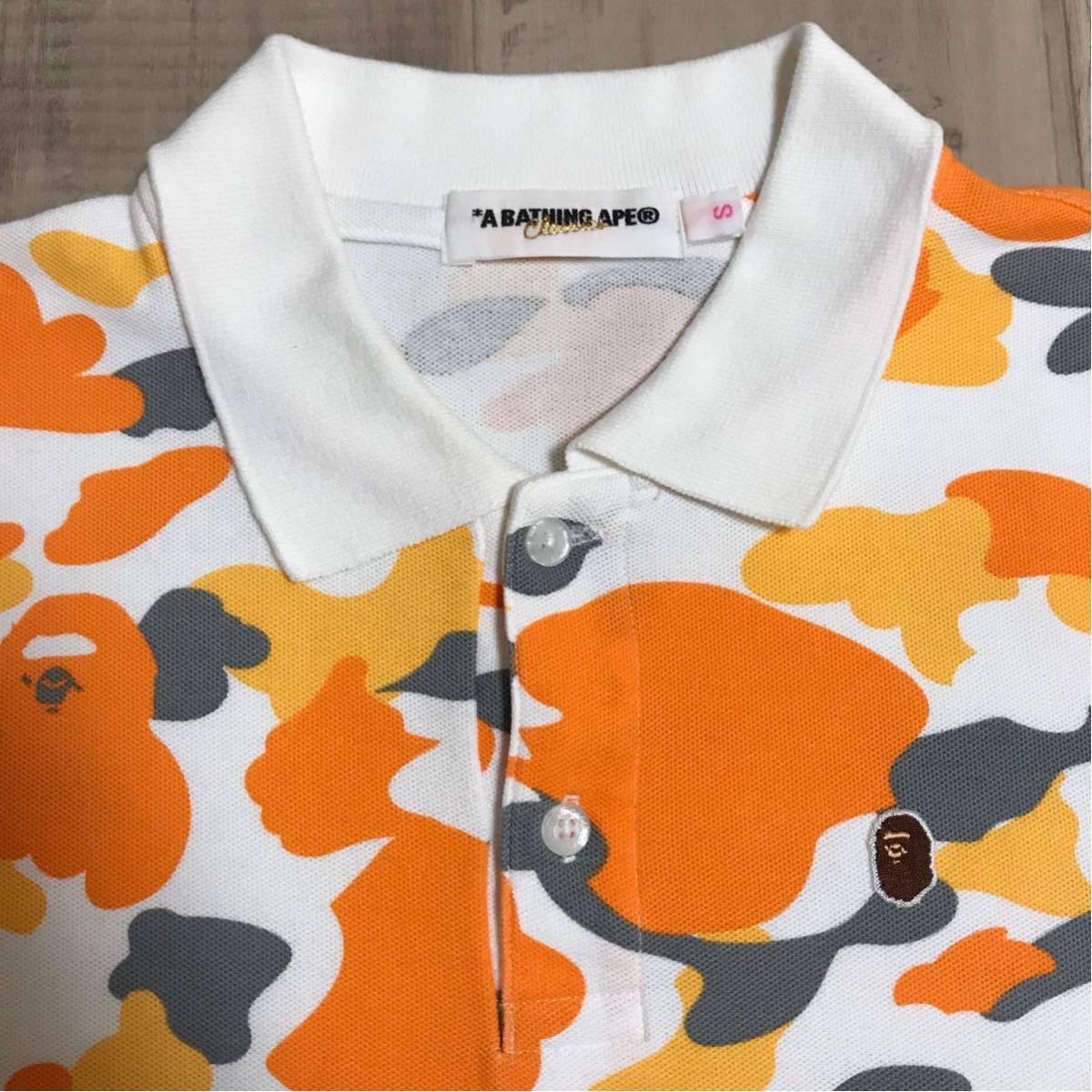 ★福岡限定★ fukuoka city camo ポロシャツ レディース Sサイズ a bathing ape bape エイプ ベイプ 都市限定 迷彩 store limited camo
