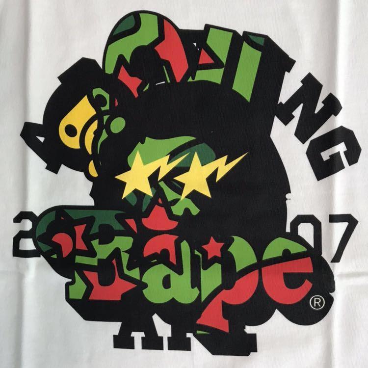 ★新品★ psyche camo 2007年 カレンダー Tシャツ Mサイズ a bathing ape bape baby milo サイケカモ エイプ ベイプ アベイシングエイプ