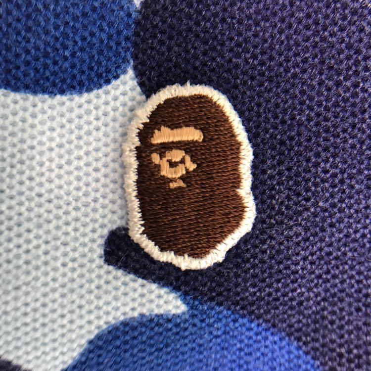 ★名古屋限定★ nagoya city camo レディース ポロシャツ XXSサイズ a bathing ape bape エイプ ベイプ アベイシングエイプ 都市限定 迷彩