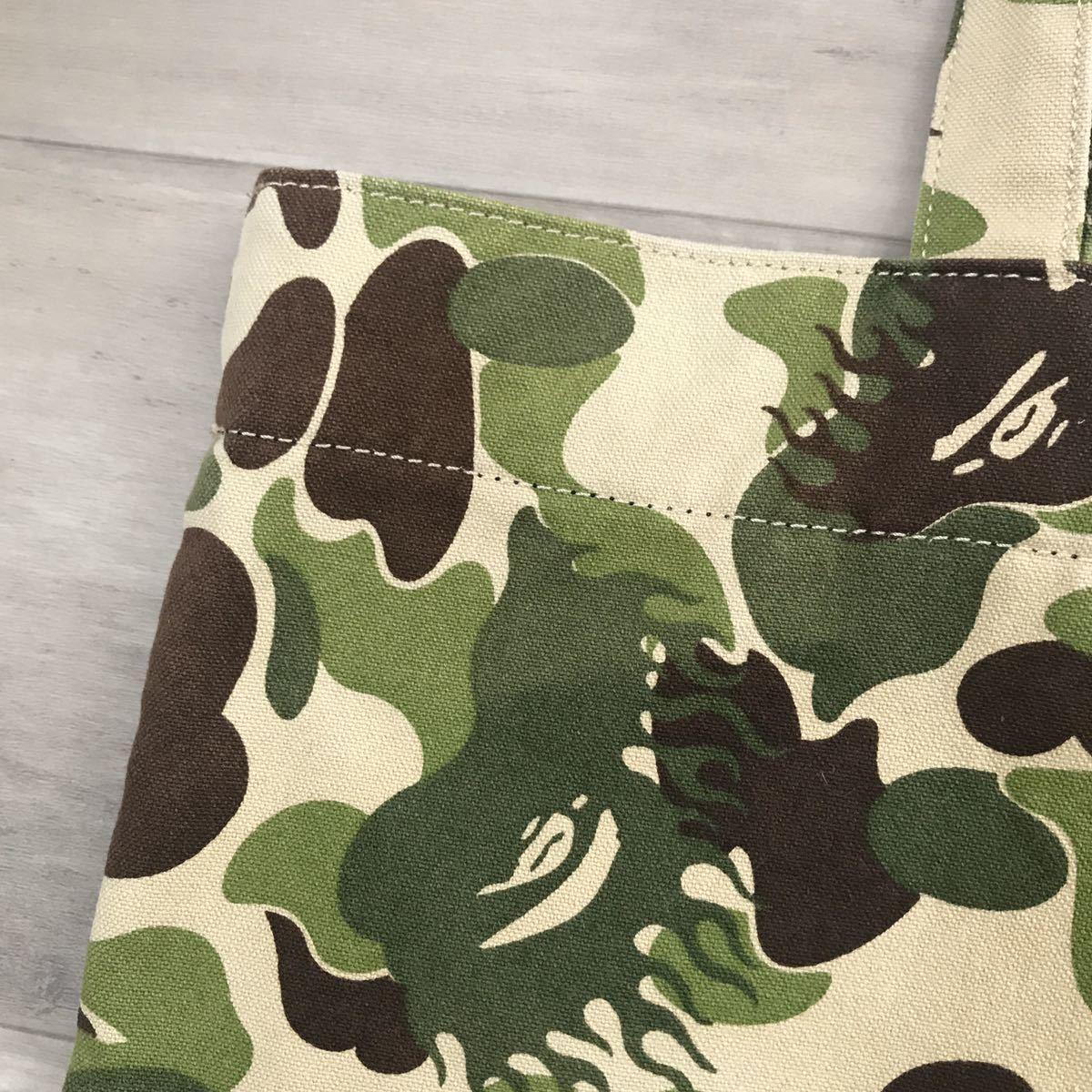 ★激レア★ fire camo トート バッグ a bathing ape bape bag ファイヤーカモ エイプ ベイプ アベイシングエイプ 迷彩 nigo