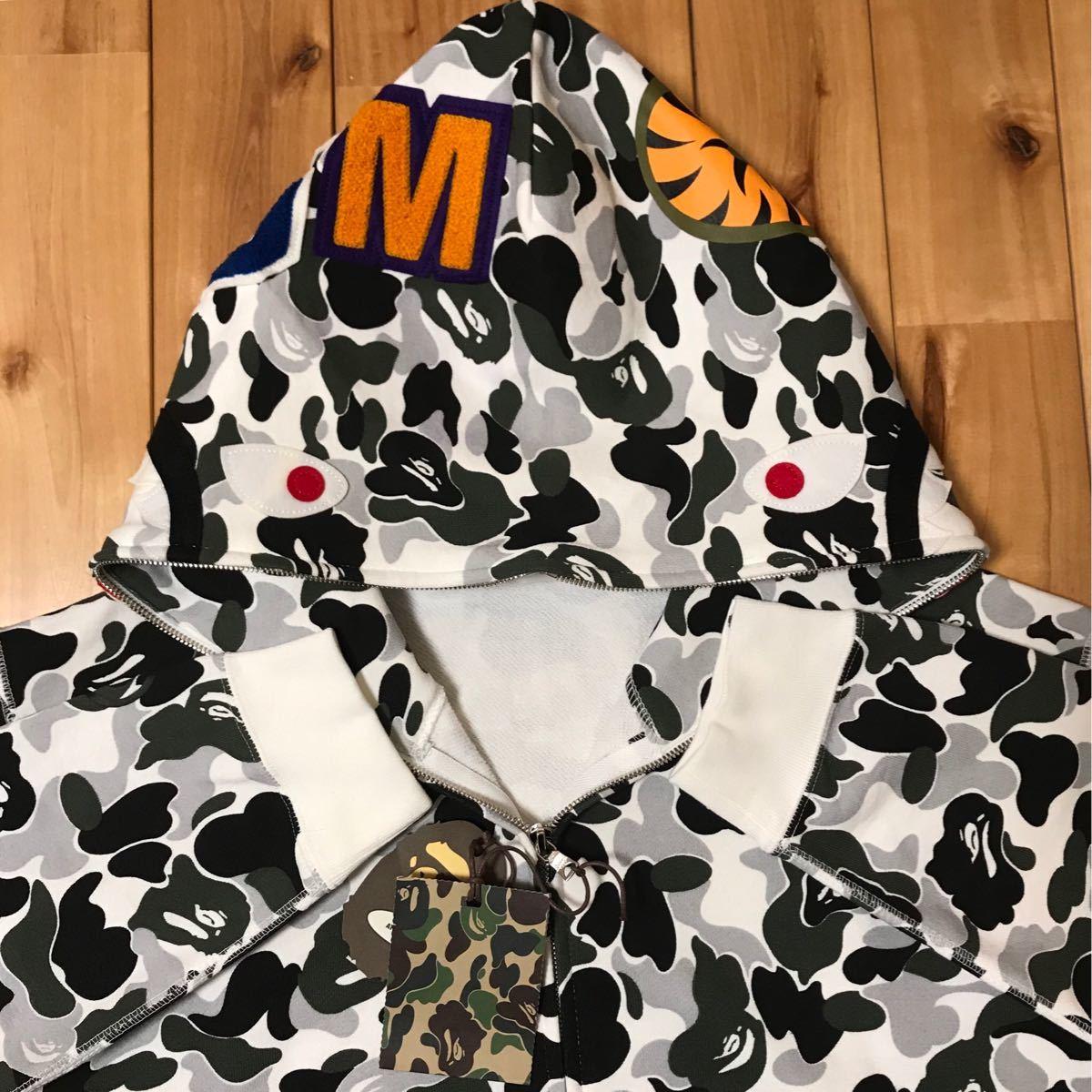 ★新品★ 京都限定 kyoto city limited color camo シャーク パーカー shark full zip hoodie a bathing ape BAPE エイプ ベイプ 都市限定