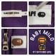 ★XL★ マイロ フルジップ パーカー purple a bathing ape BAPE BABY milo full zip hoodie エイプ ベイプ アベイシングエイプ パープル s8