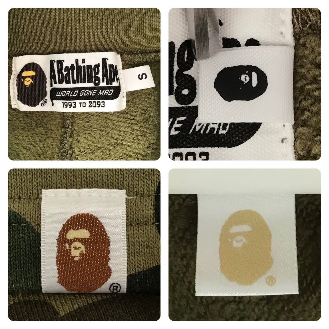 1st camo green シャーク ハーフパンツ Sサイズ a bathing ape BAPE shark shorts ショーツ エイプ ベイプ アベイシングエイプ 迷彩 2ja4