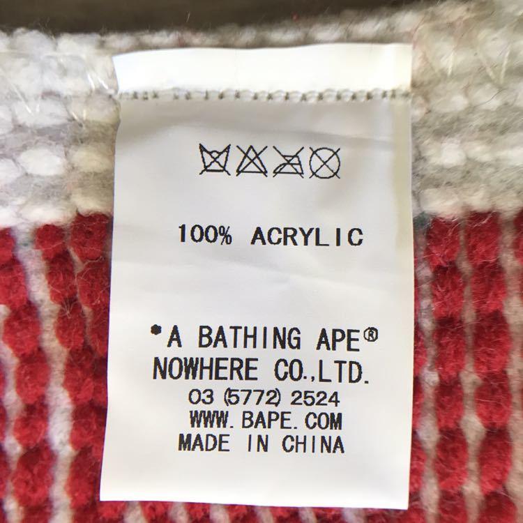 ★新品★ ラグマット bape head ユニオンジャック a bathing ape エイプ ベイプ アベイシングエイプ ラグ マット イギリス 国旗 flag