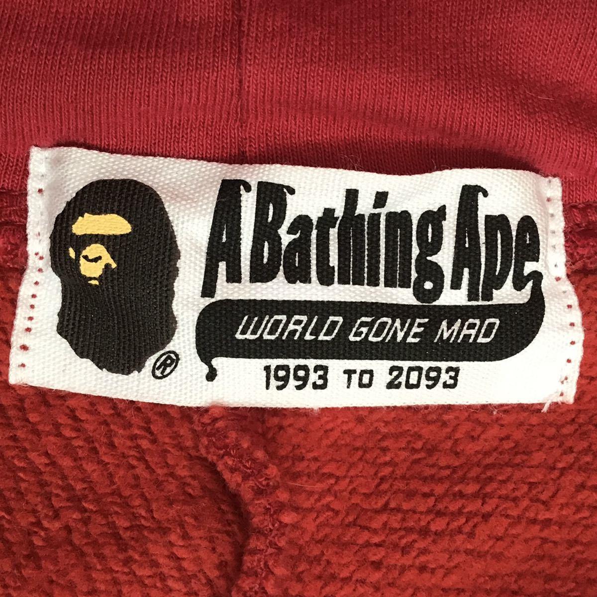 shark hoodie ネックウォーマー red camo a bathing ape bape シャーク パーカー face mask フェイスマスク エイプ ベイプ レッドカモ 迷彩