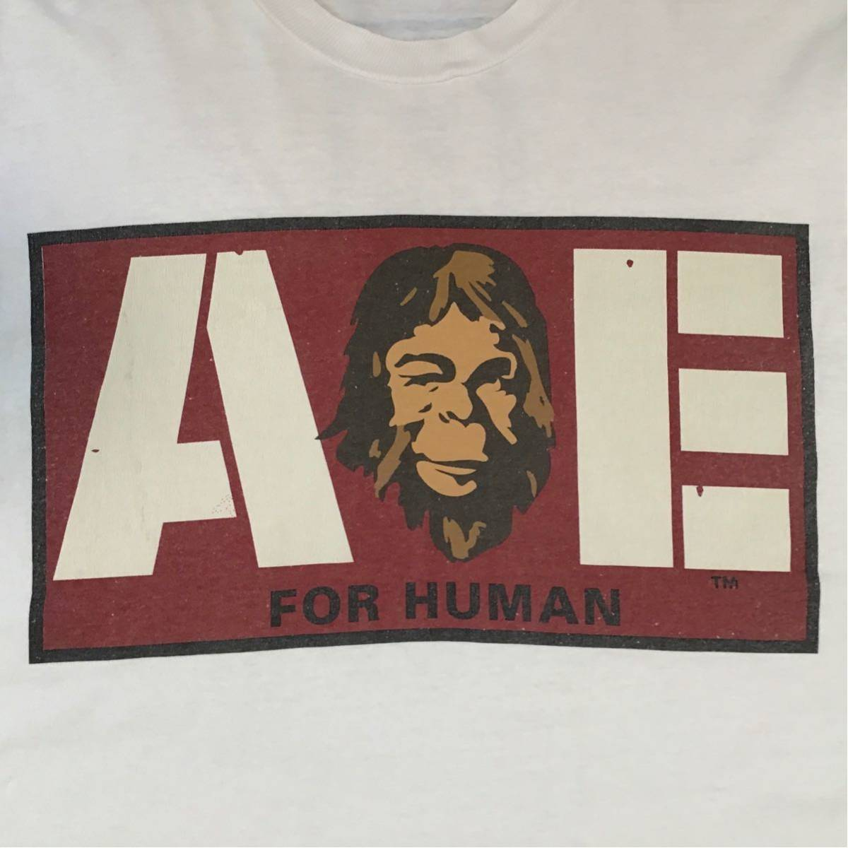 ★激レア★ 初期 oneita ボディ Tシャツ ジュニア Lサイズ a bathing ape bape logo ビンテージ エイプ ベイプ アベイシングエイプ NIGO a3
