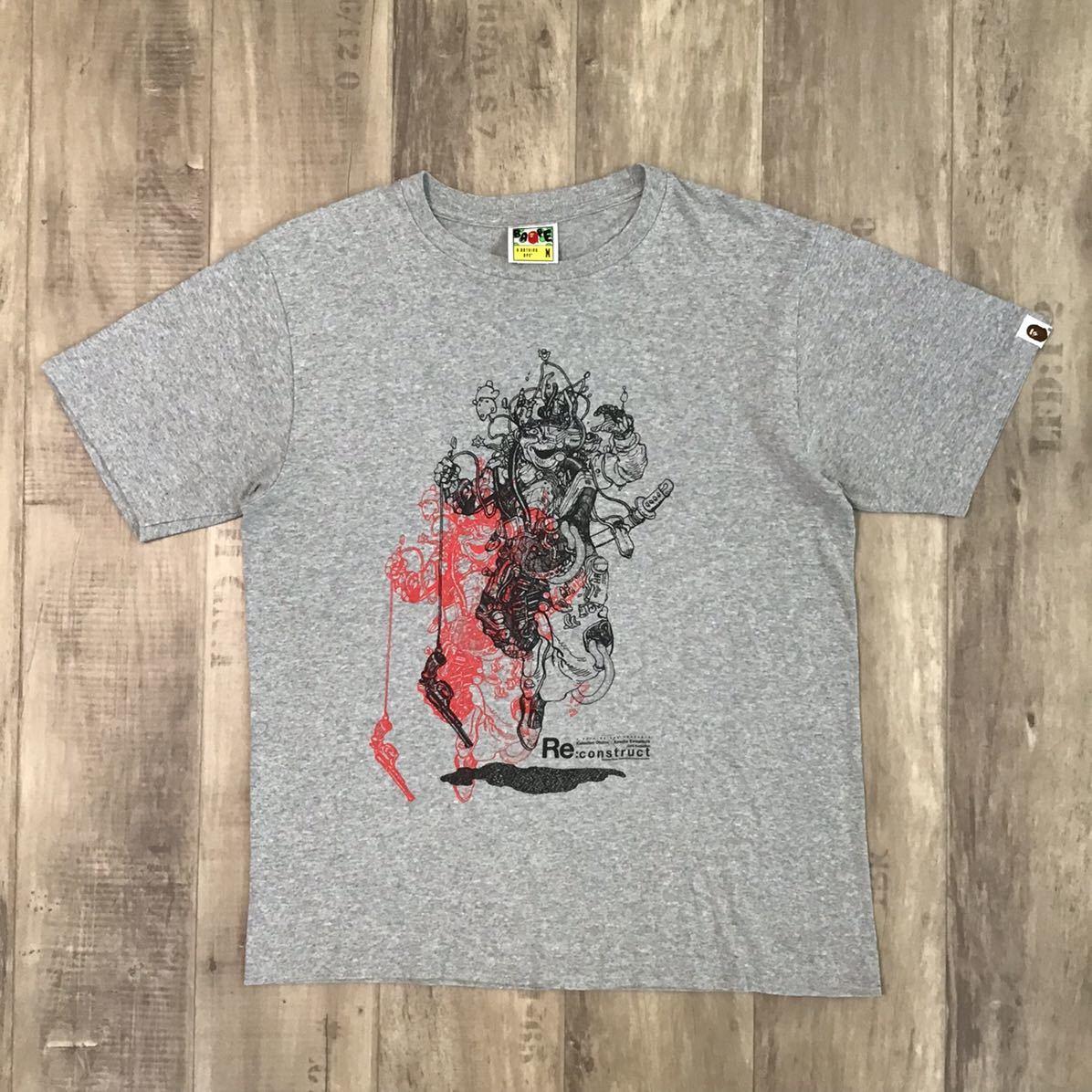 ★激レア★ 大友克洋 BAPE gallery Re:construct 童夢 Tシャツ Mサイズ a bathing ape エイプ ベイプ アベイシングエイプ kyoto limited 5b