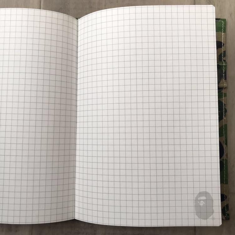 2010年 スケジュール帳 a bathing ape bape 手帳 エイプ ベイプ アベイシングエイプ コレクション グッズ ABC camo green ABCカモ