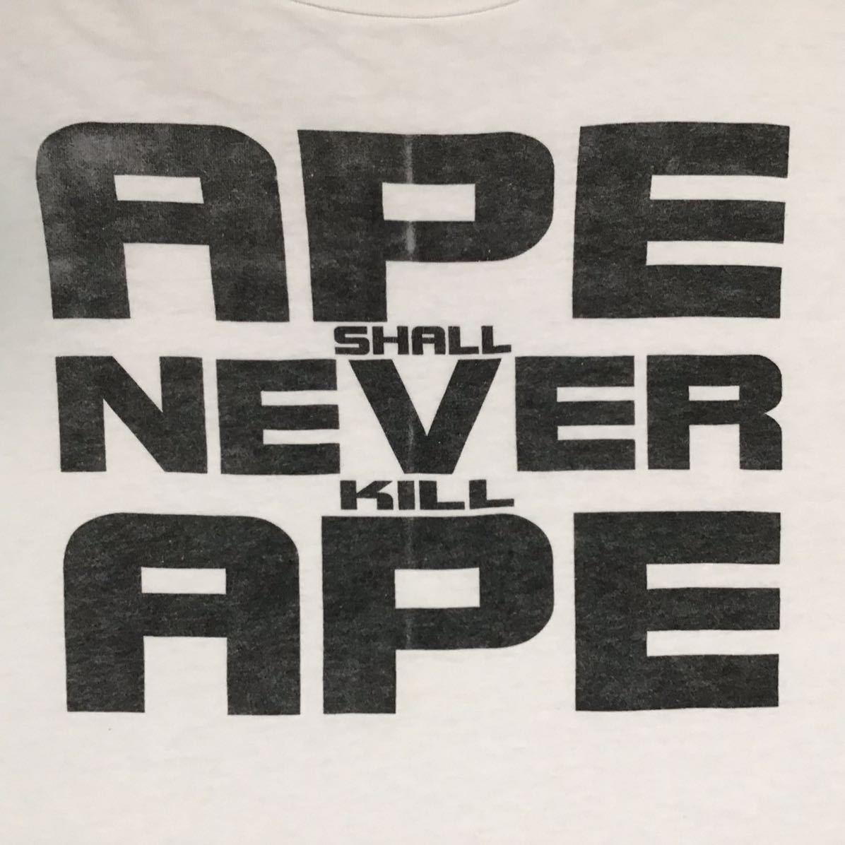 ★激レア★ 初期 oneita ボディ ASNKA Tシャツ Lサイズ a bathing ape bape 90s ビンテージ 裏原宿 エイプ ベイプ nigo k32