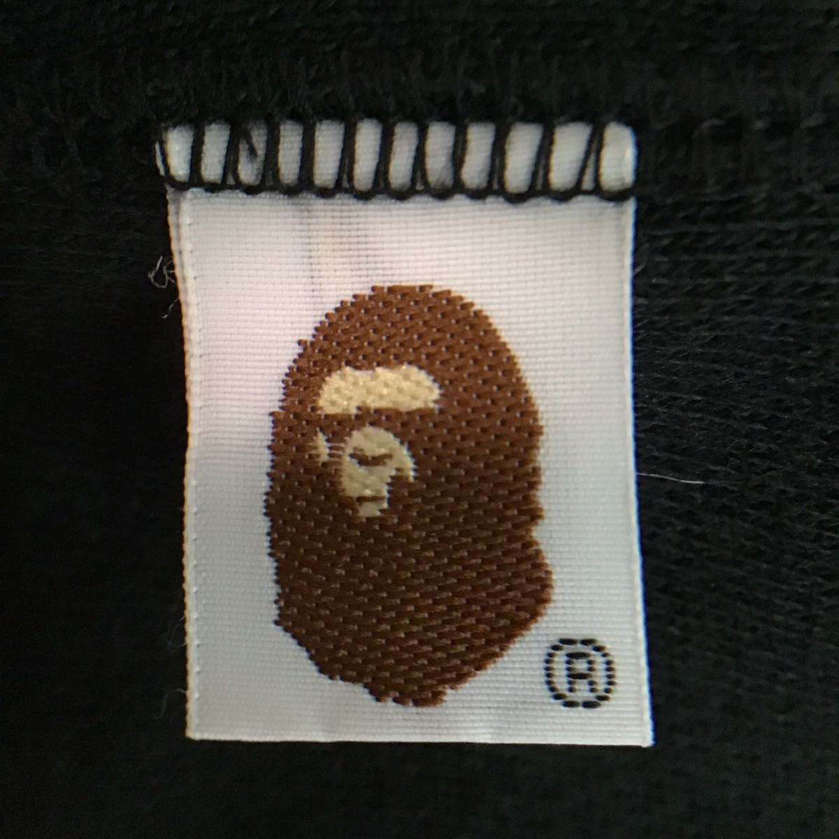 スワロフスキー スウェット フード ベスト Lサイズ a bathing ape bape swarovski hoodie vest エイプ ベイプ パーカー ラインストーン 142