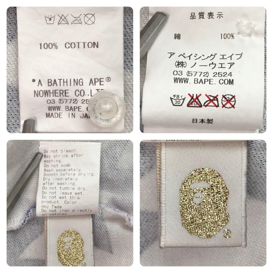 ★静岡限定★ Shizuoka limited star ポロシャツ Mサイズ a bathing ape bape sta エイプ ベイプ スター アベイシングエイプ star pr52
