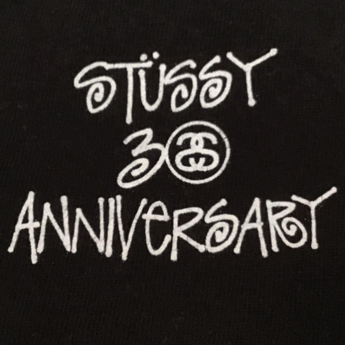 bape × stussy 30周年記念 Tシャツ Sサイズ ABCカモ green a bathing ape エイプ ベイプ アベイシングエイプ ABC camo ステューシー m893