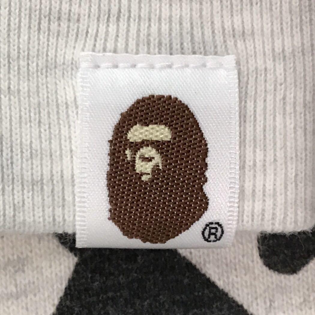 Mad face big head 長袖スウェット Mサイズ アイボリー a bathing ape BAPE エイプ ベイプ アベイシングエイプ sweat