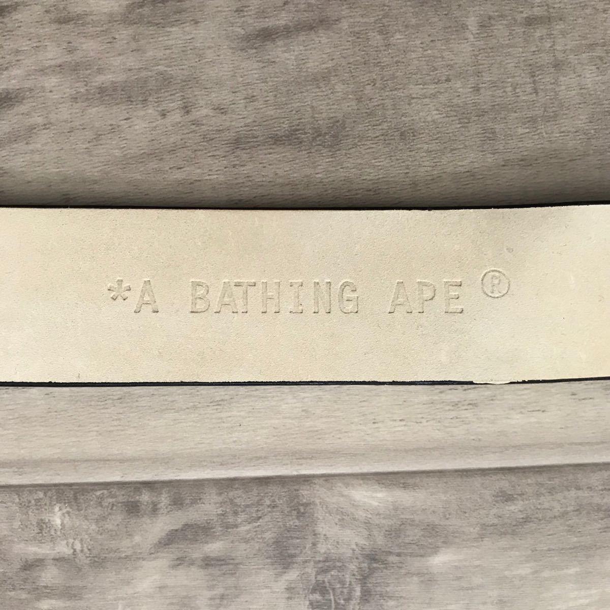 マルチカモ レザー ベルト a bathing ape bape multi camo cotton candy エイプ ベイプ アベイシングエイプ バックル nigo 裏原宿 gold